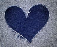 hjärtajeans Arkivbild