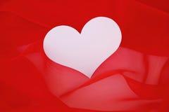 Hjärtakort för valentin eller bröllop. Royaltyfri Bild