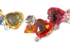 Hjärtakristall Arkivfoto