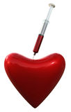 hjärtaläkarundersökning royaltyfria bilder