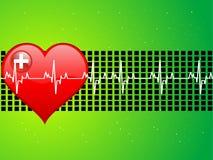 hjärtaläkarundersökning Arkivbild