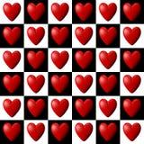 Hjärtamodell Royaltyfri Bild