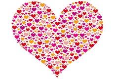 hjärtamodell Arkivfoto