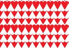 Hjärtamodell i rött Arkivbilder
