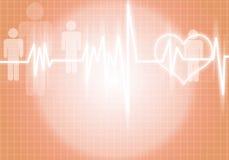 Hjärtaomsorg Arkivbild