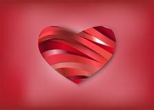 Hjärtaorganskador därför att förälskelse Royaltyfria Bilder