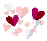 hjärtapapper Arkivbilder