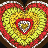 hjärtaprydnad Arkivbilder