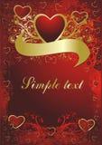 hjärtaprydnad Royaltyfri Bild