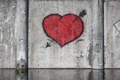 hjärtared Fotografering för Bildbyråer