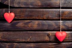 hjärtared två Arkivbild