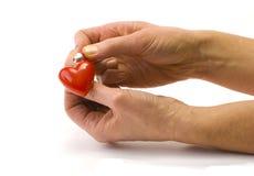 hjärtareparation Arkivbilder
