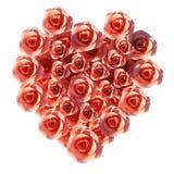 Hjärtaroshjälpmedel Valentine Day And Flora Arkivbild