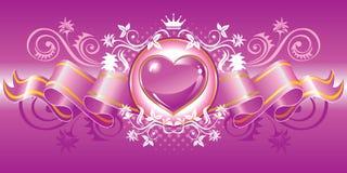hjärtasymbol Royaltyfri Foto