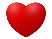 hjärtasymbolsillustration Royaltyfri Fotografi