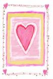 hjärtatecken royaltyfri illustrationer