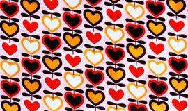 Hjärtatextur Vektor Illustrationer