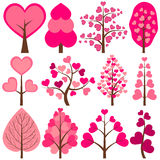 Hjärtaträd Royaltyfri Bild