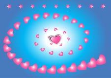 hjärtauniversum Royaltyfri Fotografi