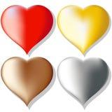 Hjärtauppsättning Fotografering för Bildbyråer
