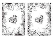hjärtavalentin vektor illustrationer