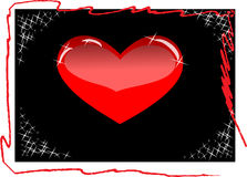hjärtavalentinvektor Royaltyfri Bild