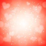 Hjärtavektorbakgrund Fotografering för Bildbyråer