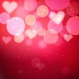 Hjärtavektorbakgrund Royaltyfri Bild