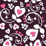 hjärtawallpaper royaltyfri illustrationer
