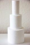 hjärtegod man för softness för Toalett-papper hushållhygien Royaltyfri Foto