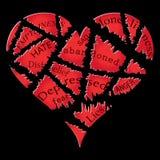 Hjärtesorg Fotografering för Bildbyråer