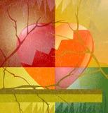 hjärtesorgstation Arkivbilder