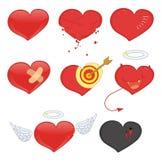 Hjärtor Arkivbild