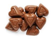 Hjärtor för valentindagchoklad Royaltyfria Foton