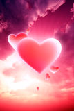 hjärtor heavenly Arkivbilder