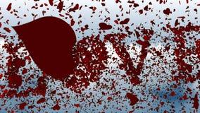 Hjärtor i fria fallet som formar ordförälskelsen