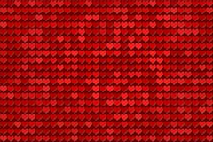 hjärtor mönsan red Royaltyfri Fotografi