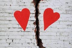 hjärtor två Arkivbilder