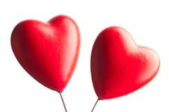 hjärtor två Arkivfoto