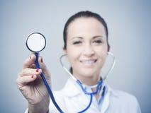 Hjärtsjukdomförhindrande och hjälp Arkivfoton