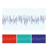 hjärtslagläkarundersökning Arkivbilder
