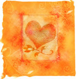 hjärtaförälskelse Fotografering för Bildbyråer