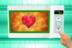 hjärtaprovning Arkivbild