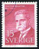 Hjalmar Branting Royalty Free Stock Photo