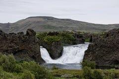 Hjalparfoss en Islande du sud, l'Europe images libres de droits