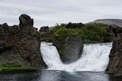 Hjalparfoss en Islande du sud, l'Europe photo stock