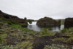 Hjalparfoss in Islanda del sud, Europa Immagine Stock