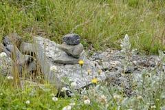 Hjalparfoss in Süd-Island, Europa Stockbilder