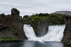 Hjalparfoss in South Iceland, Europe stock photo