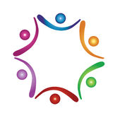 hjälpande logolag Arkivfoton